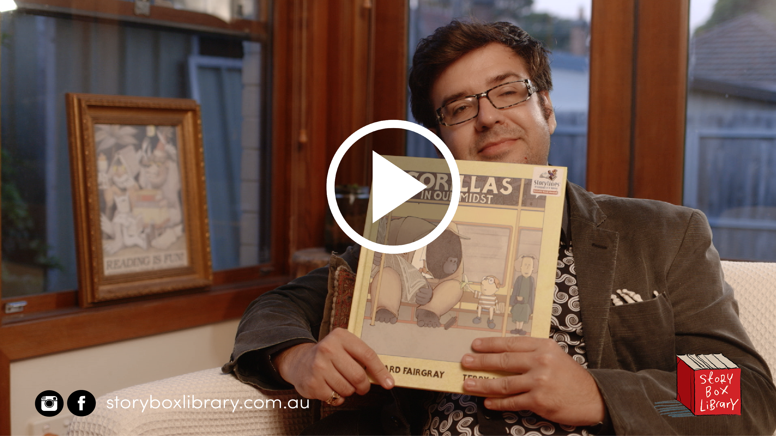 Gorillas in Our Midst, read by Richard Fairgray