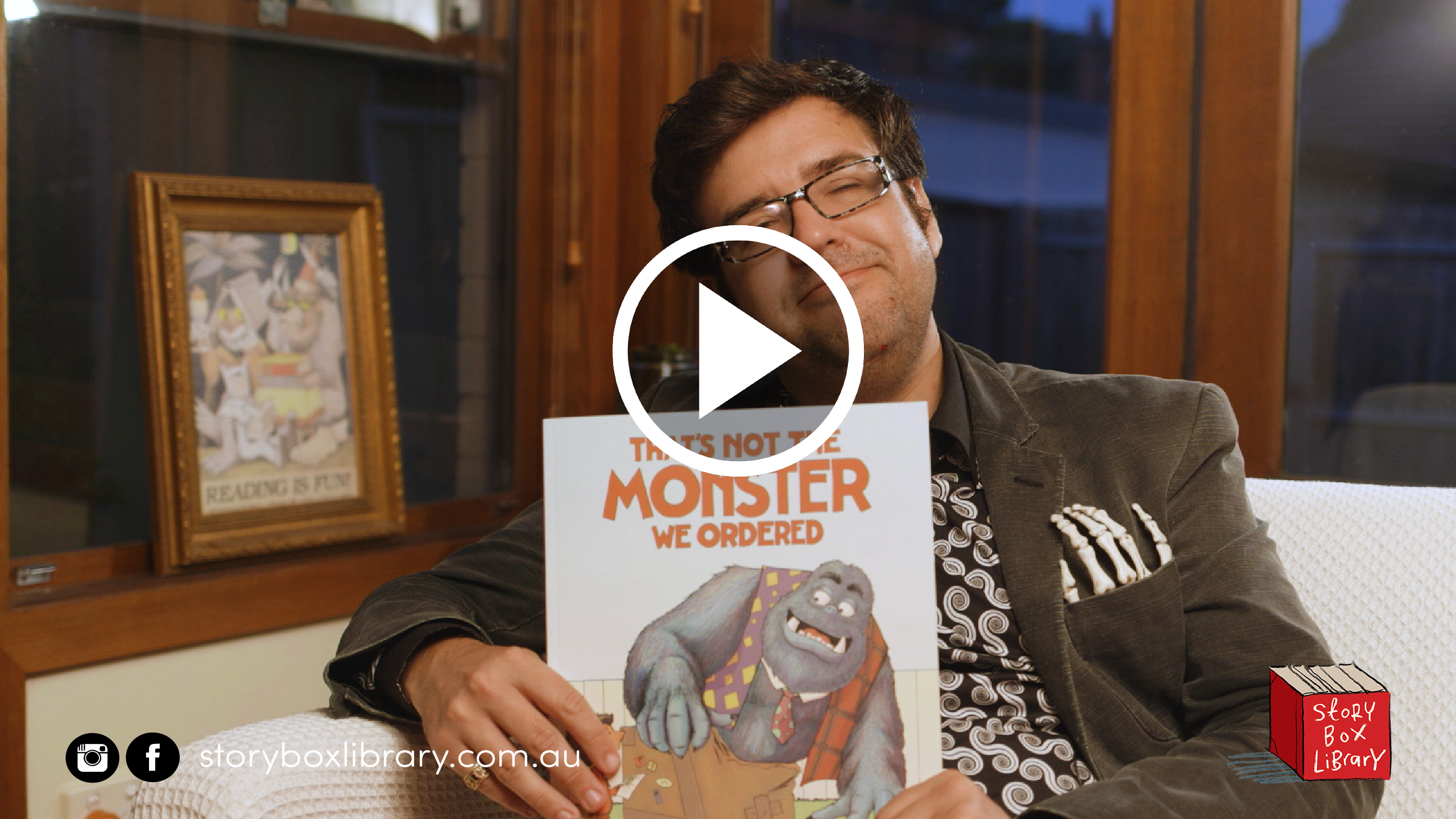 That's Not the Monster We Ordered, read by Richard Fairgray